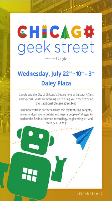Google Geek Street Fair